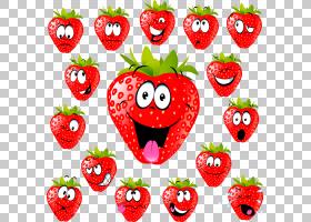 草莓动画图,草莓PNG剪贴画食品,草莓,摄影,心,卡通,水果,免版税,