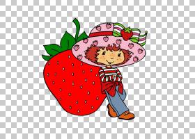 草莓脆饼卡通,草莓女孩PNG剪贴画画,食物,时尚女孩,草莓,手,馅饼,