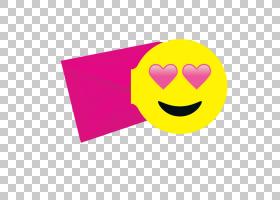 表情笑脸紫紫色心形表情PNG剪贴画杂项,紫色,紫色,笑脸,卡通,图释