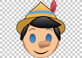 表情符号皮诺奇表情符号笑脸沃尔特迪斯尼公司,皮诺奇PNG剪贴画帽