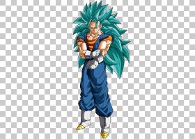 Vegeta Goku Majin Buu Cell Gohan,龙球PNG剪贴画虚构人物,虚构
