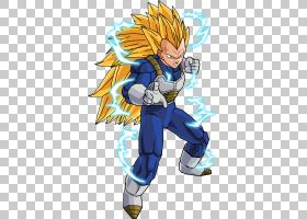Vegeta Goku Majin Buu Gotenks Gohan,龙球PNG剪贴画虚构人物,超
