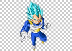 Vegeta Majin Buu Goku Gohan Trunks,龙球PNG剪贴画虚构人物,超