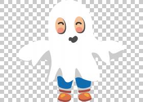 儿童幽灵,一个伪装成幻影PNG剪贴画的孩子手,橙色,人,电脑壁纸,笑