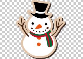 圣诞老人圣诞节装饰纸贴纸,圣诞节雪人PNG clipart杂项,新,圣诞节