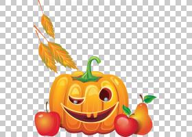 南瓜南瓜,万圣节PNG剪贴画天然食品,食品,假日,橙,葫芦,插画,封装图片
