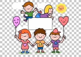 儿童节海报礼品图,儿童边框PNG剪贴画边框,儿童,文字,摄影,人,海
