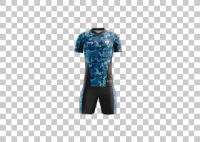 T恤Kit Uniform Tracksuit Sleeve,制服PNG剪贴画T恤,蓝色,运动,