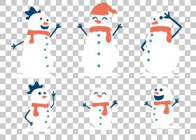雪人家庭圣诞节,可爱的雪人PNG剪贴画杂项,白色,帽子,文本,电脑壁