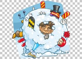 雪球战卡通游戏,动态PNG剪贴画杂项,漫画,游戏,漫画书,其他,虚构