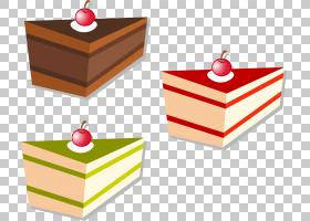 樱桃蛋糕甜点,手绘卡通樱桃蛋糕PNG剪贴画水彩绘画,食品,手,甜蜜,