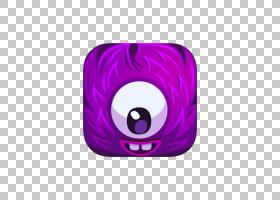 紫色卡通谷歌s,卡通创意拉盒免费照片PNG剪贴画杂项,紫色,紫罗兰