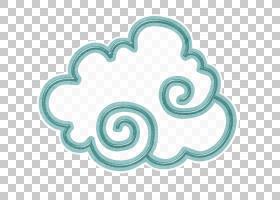 云图标,卡通云PNG剪贴画卡通人物,儿童,画,手,螺旋,心,封装的Post