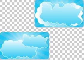 云欧几里德插图,云插图PNG剪贴画蓝色,文本,矩形,云,云计算,生日