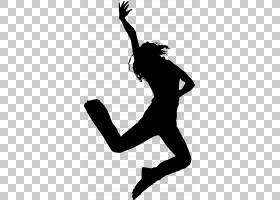 嘻哈舞街舞嘻哈,舞蹈剪影PNG剪贴画动物,手,单色,芭蕾舞者,卡通,