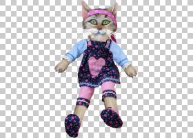 小猫猫图,猫饰品PNG剪贴画紫色,动物,猫像哺乳动物,圣诞饰品,小猫