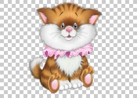 小猫猫老虎绘图,卡通猫PNG剪贴画卡通人物,孩子,动物,猫像哺乳动