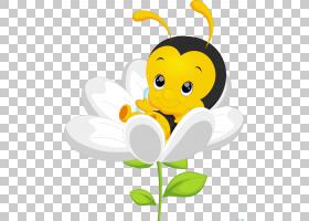 蜜蜂绘图,蜂蜜PNG剪贴画蜜蜂,食物,向日葵,昆虫,笑脸,卡通,虚构人