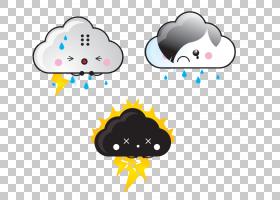 闪电云,可爱的云彩PNG剪贴画爱,云,电脑壁纸,爱情侣,爱情鸟,卡通,