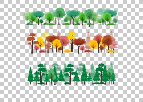 树森林卡通,四季森林,森林PNG剪贴画叶,草,生日快乐矢量图像,花,