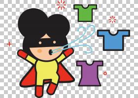 欧几里得插图,洗衣超人PNG剪贴画英雄,文本,海报,卡通,洗衣,播放,