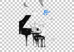 噬魂师埃文斯动漫钢琴绘画音乐噬魂师PNG剪贴画家具,漫画,单色,动
