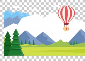 气球旅行谷歌,雪覆盖草原PNG剪贴画摄影,电脑壁纸,草,卡通,封装Po