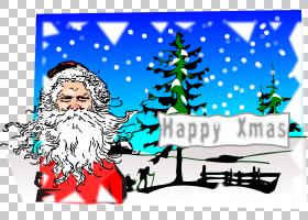 圣诞老人克劳斯夫人,圣诞老人PNG剪贴画假期,圣诞节装饰,虚构人物