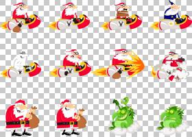 圣诞老人动画片图画,圣诞节新鲜的成份PNG clipart假期,生日快乐图片