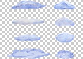 水彩画云,水彩云PNG剪贴画紫色,蓝色,水彩叶子,水彩矢量,颜色,油