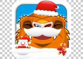 圣诞老人卡通,猩猩PNG剪贴画动物,假期,卡通,虚构人物,圣诞老人,