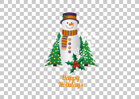 圣诞节装饰品横幅模板圣诞节卡通雪人PNG剪贴画杂项,模板,徽标,圣