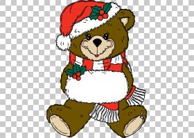 泰迪熊圣诞节,驯鹿PNG剪贴画哺乳动物,动物,carnivoran,脊椎动物,