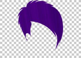 漂白染发染发人发染发,美发PNG剪贴画紫色,蓝色,紫罗兰色,人,人造