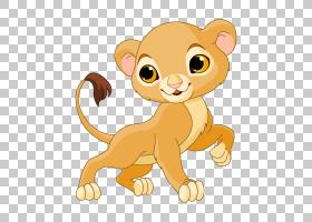 狮子Sarabi卡通,卡通母狮PNG剪贴画哺乳动物,猫像哺乳动物,食肉动