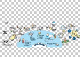 社交媒体组织学校故事板教育,卡通旅游景点PNG剪贴画社交媒体,互图片