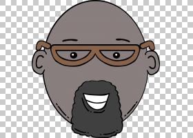 卡通绘图,卡通,男人PNG剪贴画脸,人民,头,卡通,虚构人物,鼻子,版
