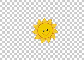 卡通绘图,卡通太阳PNG剪贴画卡通人物,橙色,向日葵,笑脸,漫画,阳