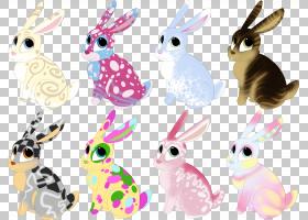 家兔野兔獭兔点着色兔子PNG剪贴画哺乳动物,动物,野兔,卡通,动物,
