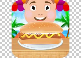 快餐芝士汉堡垃圾食品汉堡包,热狗PNG剪贴画食品,芝士汉堡,卡通,