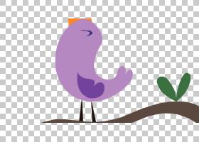 画鸟画,欢乐的PNG剪贴画紫色,哺乳动物,动物,紫,鸡,脊椎动物,鸣禽