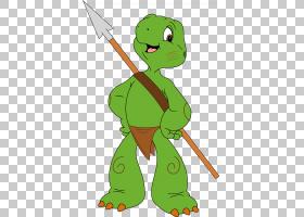 海龟忍者神龟,丛林书PNG剪贴画动物,脊椎动物,草,虚构人物,卡通,