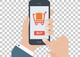 在线购物手机,购物车PNG剪贴画杂项,小工具,零售,手,其他,手机,移