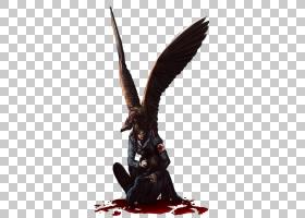 天使的血鸟,天使PNG剪贴画杂项,其他,虚构人物,deviantArt,鸟,流