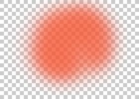 天空特写镜头唇圈,橙色简单的光线影响元素PNG clipart效果,灯,简
