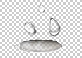 透明度和半透明滴,无色,透明水滴PNG剪贴画下降,淘宝,材料,金属,