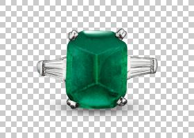 美国翡翠宝石学院克拉戒指钻石,祖母绿PNG剪贴画宝石,戒指,钻石,图片