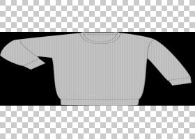 连帽衫T恤毛衣模板Bluza,模板。 ,灰色运动衫PNG剪贴画T恤,白色,