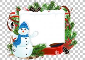 圣诞雪人摄影,免费圣诞节背景拉材料PNG剪贴画功能区,假期,分支机