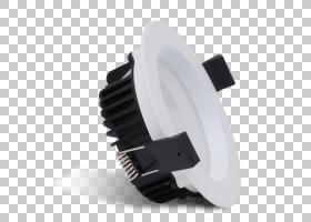 嵌入式灯能源效率服务有限公司LED灯高效节能,筒灯PNG剪贴画角,白图片